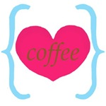 Pink Turquoise Coffee