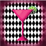 Pink Cocktail Diamonds