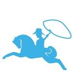 Blue Cowboy Pony