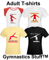 Gymnastics T-shirts at Gymnastics Stuff
