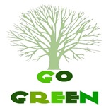 Go Green Bare Tree