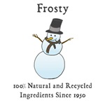 All Natural Frosty the Snowman
