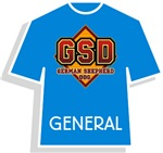 General GSD T-Shirts