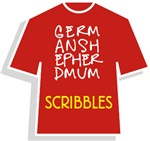 Scribbles GSD T-Shirts