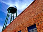 Conway Water Tower Brick Wall