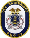 USS Bainbridge DDG 96 Navy Ship