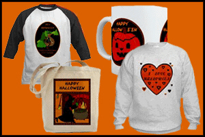 HALLOWEEN T-SHIRTS & GIFTS