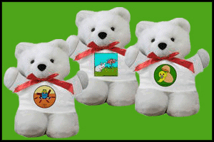 TEDDY BEARS WITH CUTE PICTURES