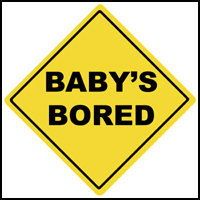 BABY'S BORED T-SHIRTS & GIFTS