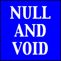 NULL & VOID T-SHIRTS & GIFTS