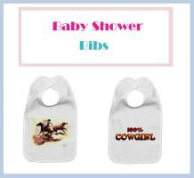 Cute Cowboy & Cowgirl Bibs