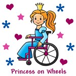 Princess on Wheels (Red Hair)