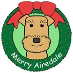 Airedale Terrier Christmas Ornaments