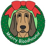 Bloodhound Christmas Ornaments