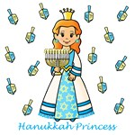 Hanukkah Princess (Red Hair)