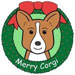Cardigan Welsh Corgi Christmas Ornaments
