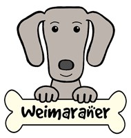 Personalized Weimaraner