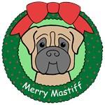 Mastiff Christmas Ornaments