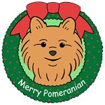 Pomeranian Christmas Ornaments