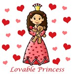 Lovable Princess (Brown Hair)