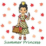 Summer Princess (Black Hair)