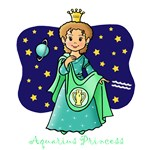 Aquarius Princess (Brown Hair)