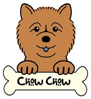 Personalized Chow Chow