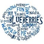 Blueberries - Word Cloud