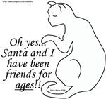 Santa's Cat