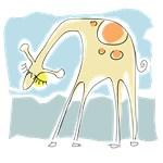Picasso Giraffe