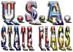 USA State Flags