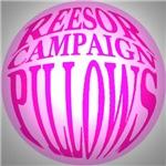 Reesor Campaign Pillows