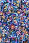 Abstract Star Swirl