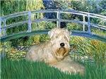 LILY POND BRIDGE<br>& Wheaten Terrier