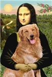 MONA LISA<br>& Golden Retriever (red)