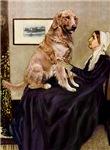 WHISTLER'S MOTHER<br>& Golden Retriever