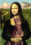 MONA LISA<br>& Red Doberman Pinscher