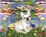 LILIES 2<br>& Fawn French Bulldog