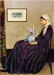 WHISTLER'S MOTHER<br>& Yorkshire Terrier