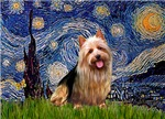 STARRY NIGHT<br>& Australian Terrier