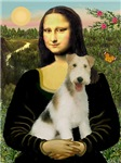 MONA LISA<br>& Wire Fox Terrier