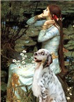 OPHELIA <br> & English Setter