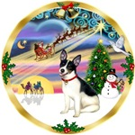 CHRISTMAS MAGIC<br>& Rat Terrier