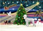 CHRISTMAS MAGIC<br>& Standard Poodle