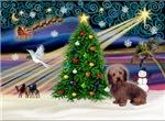 CHRISTMAS MAGIC<br>& Dachshund