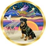 CHRISTMAS STAR<br>& Rottweiler