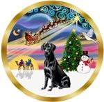 CHRISTMAS MAGIC<br>& Labrador Retriever