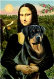 MONA LISA <br>& Rottweiler #3