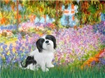 GARDEN AT GIVERNEY<br>&Lhasa Apso #2