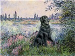 BY THE SEINE<br>&Flat Coated Retriever